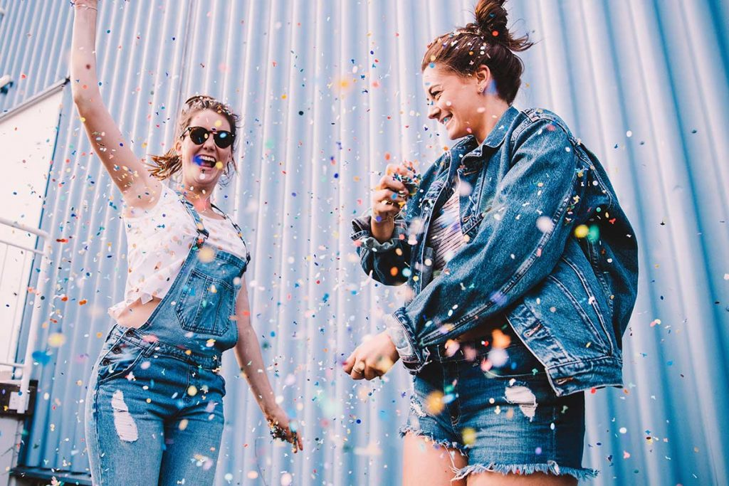 Positive Affirmationen sorgen für Glück in deinem Leben