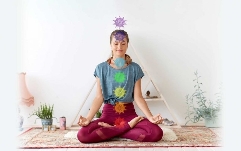 Die Chakren in deinem Körper sorgen für Antrieb und den positiven Fluss von Energien.